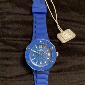 NWT Ladies Oceanaut Acqua silicon watch